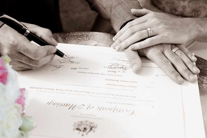 Wedding papers