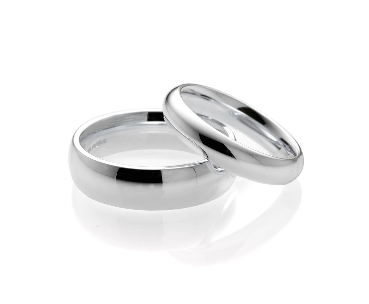 wedding product edge plain band with platinum design square white gold bands in